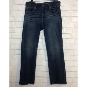 AE Straight Super Stretch Jeans 14 Short